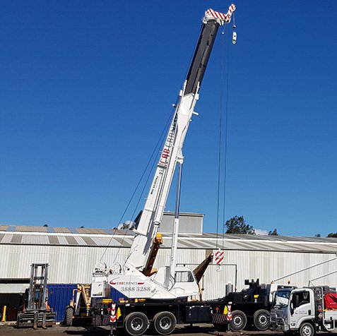 60T Slew All Terrain Crane Hire - Elevates - Brisbane, Wide Bay