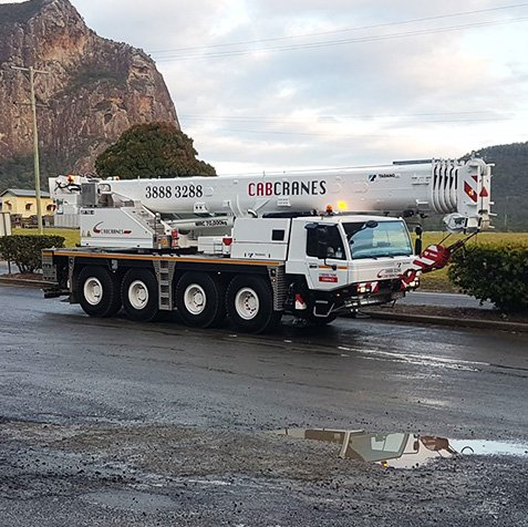 70T Slew Crane Hire - Elevates - Brisbane, Wide Bay