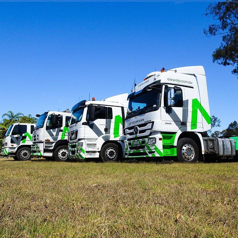 Elevates - Brisbane - Wide Bay - Sunshine Coast -Moreton - Semi Trailer Hire