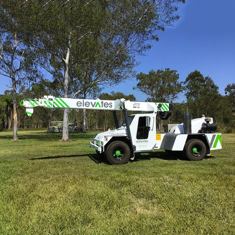 Elevates - Crane Hire - Brisbane - Moreton - Wide Bay-Sunshine Coast -15T Franna - Burpengary