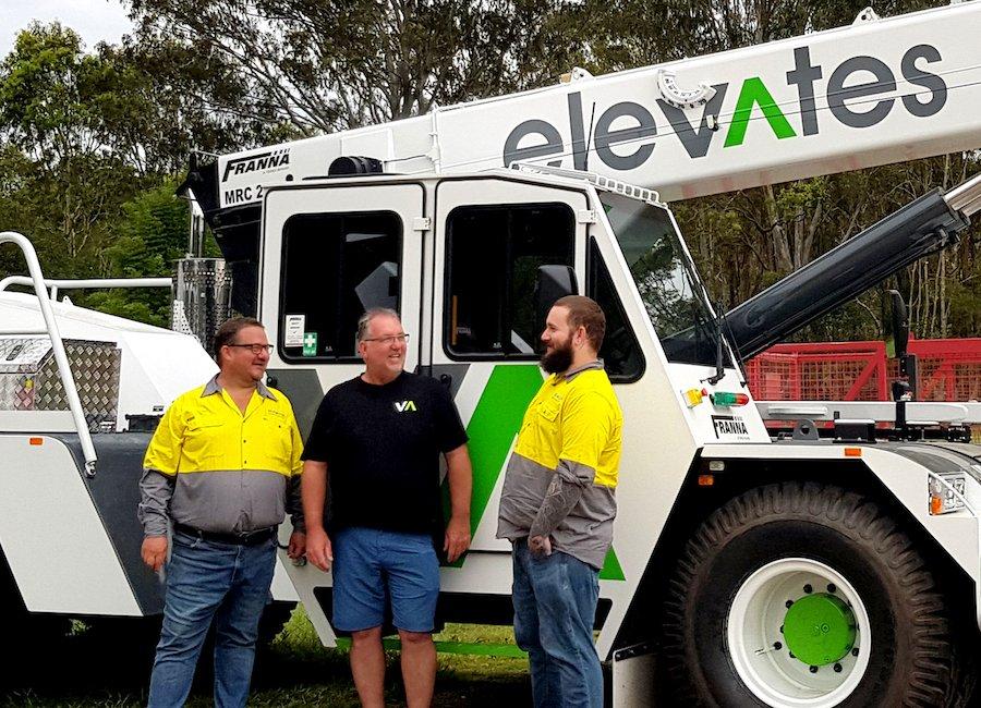Mick Messer joins Elevates Cranes & Transport Qld Brisbane