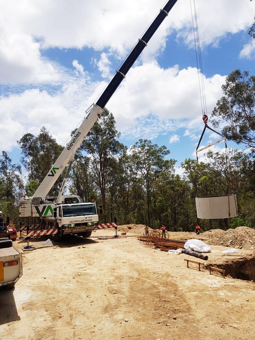Elevates Crane Hire - Pool Transport & Shifting